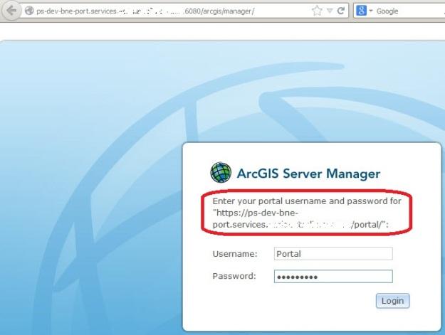 ArcGIS Server Manager login using portal user credentials