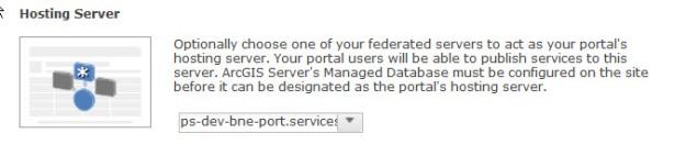 Portal setting Hosting Server