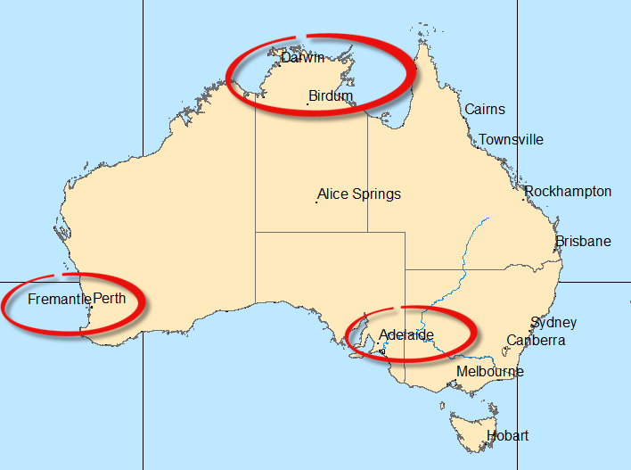 Map Of Australia Labelled.Let S Talk About Labels Esri Australia Technical Blog