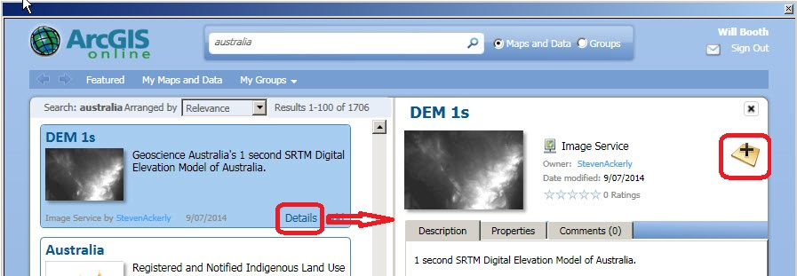 Free and easy ArcGIS Online from Desktop – Part 2 – Taking