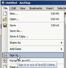 Free and easy ArcGIS Online from Desktop – Part 1