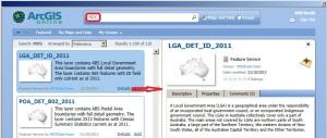 ArcGIS Online item details