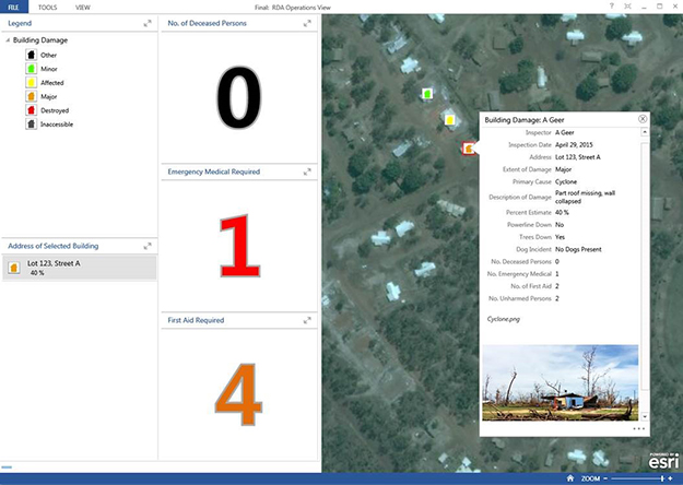 Operations Dashboard Vie