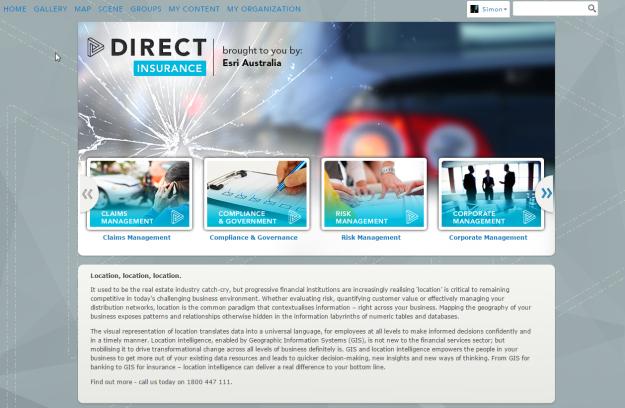 Direct Insurance AGOL