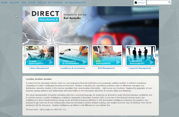 Direct Insurance AGOL
