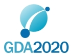 GDA2020 logo - text under symbol